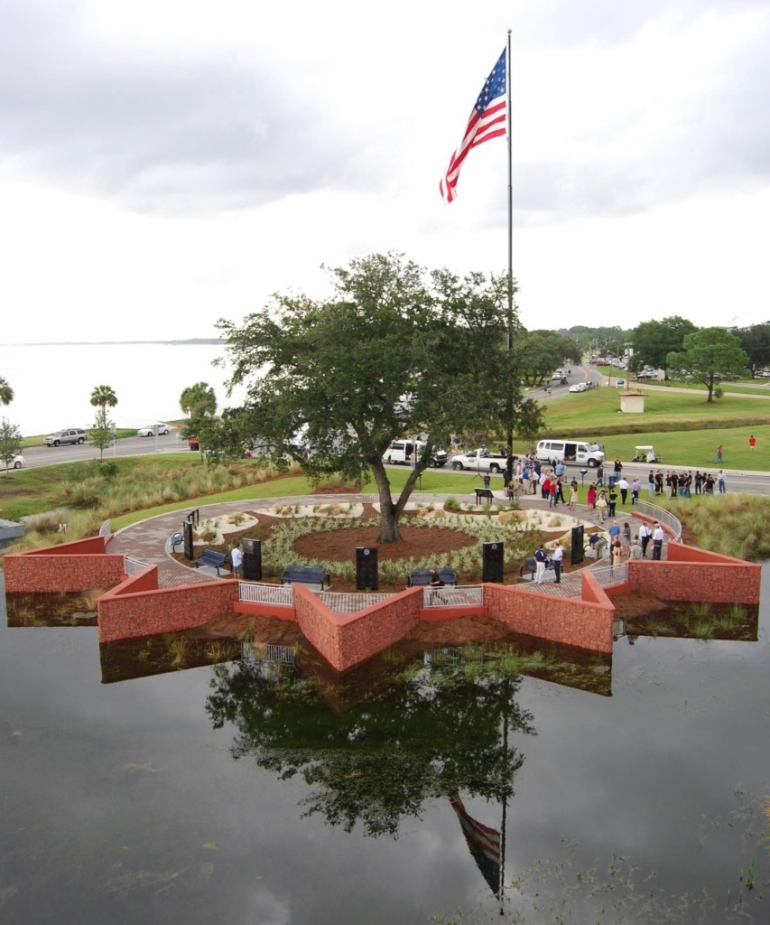 The Gulf Coast State College Military Park.